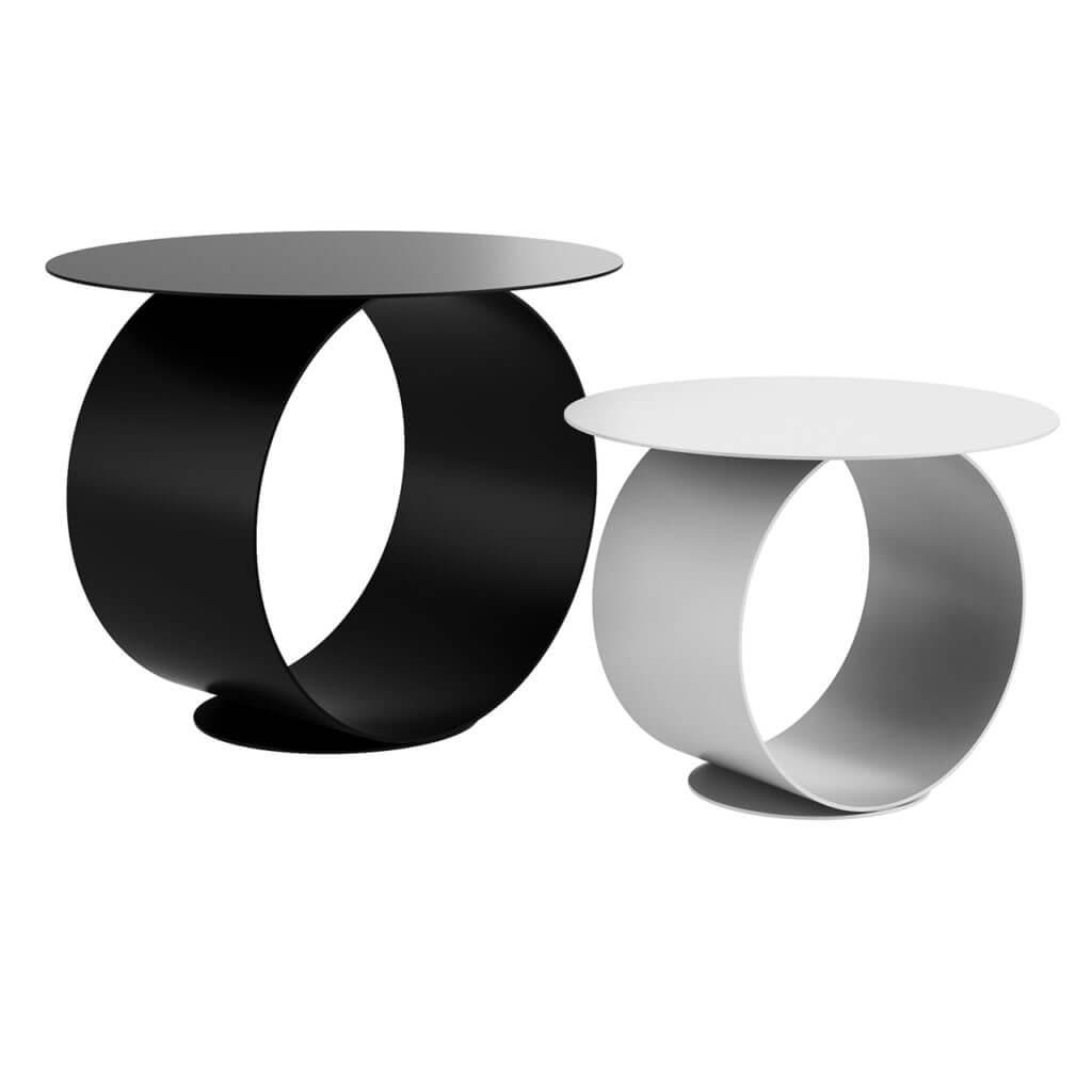 Metodo круглый кофейный столик от MDF Italia. 3Д модель