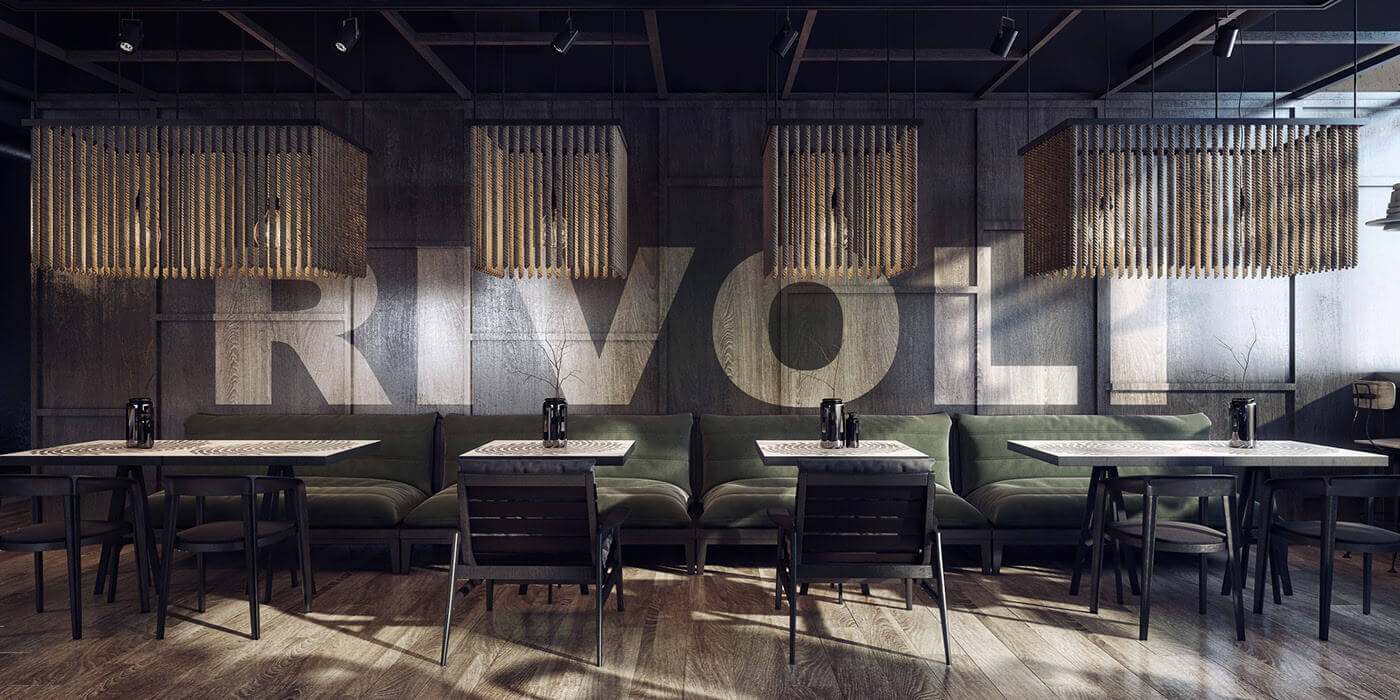 Anna Fedyukina 3D render of interior exterior