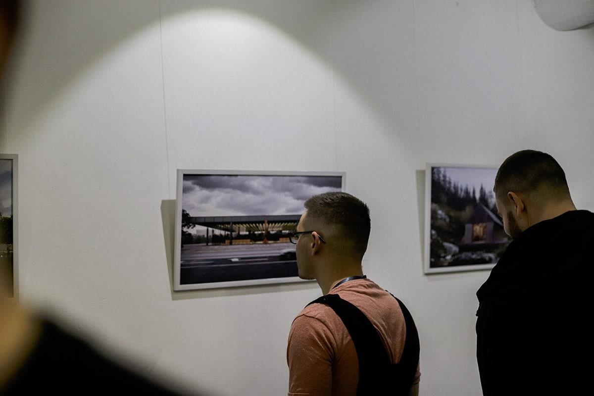 Выставка Архитектурная визуализация как искусство Андрей Гончаренко