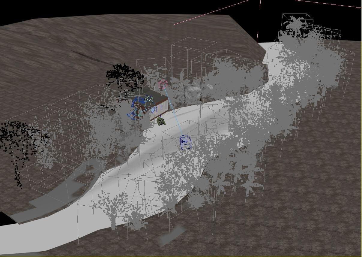 Хижина в джунглях 3Dmitri hut in jungle adventurer