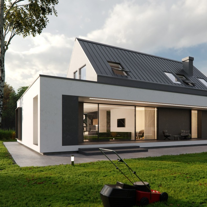 3D rendering exterior visualization